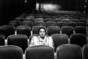 woman-in-theater
