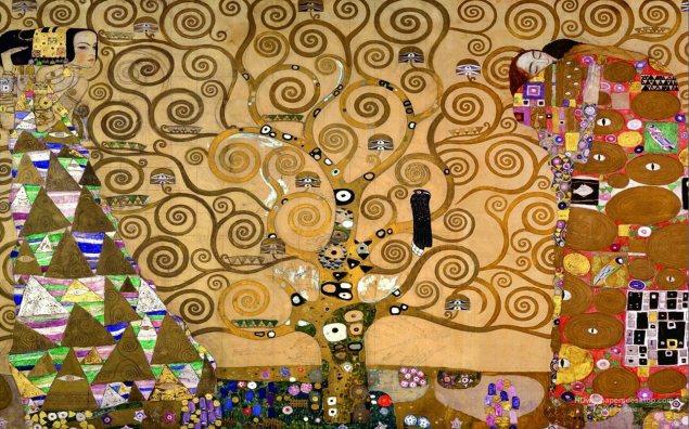 Yaşam Ağacı / Gustav Klımt