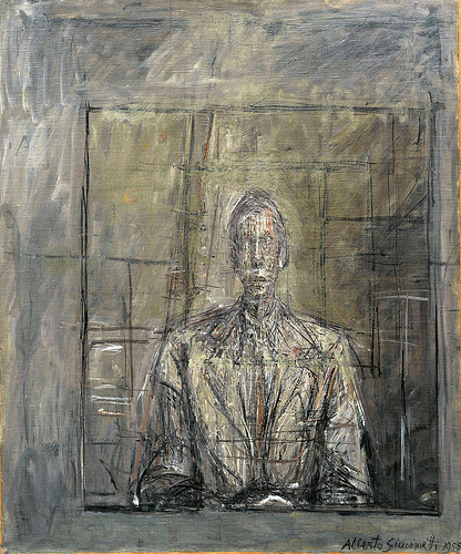 Alberto Giacometti - Portrait of Peter Watson / 1953