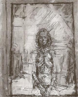 Alberto Giacometti / Annette Portresi