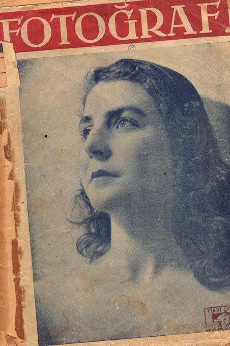 1.sayı kapak sayfası /Belkıs Fırat / Şehir Tiyatrosu Sanatçısı