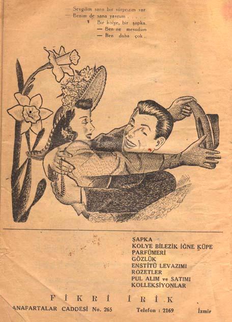 Bir reklam sayfası