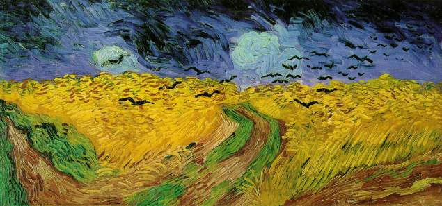 Vincent van gogh 1853 1890 wheat field with crows 1890