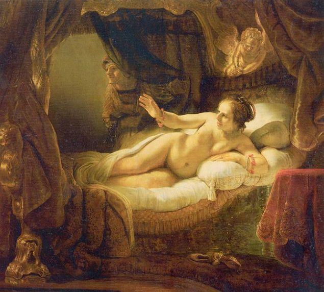 Rembrandt / Danae / 1636