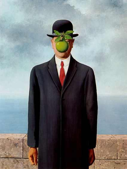 René Magritte / The Son Of A Man / 1964