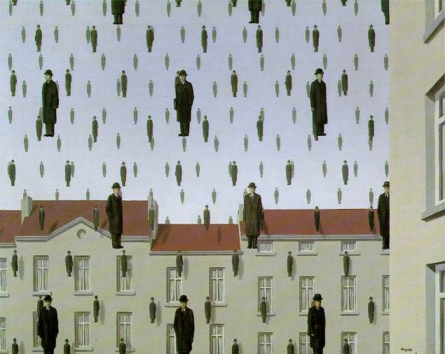 René Magritte / Golconde / 1953