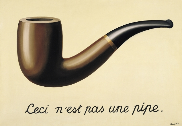René Magritte / imgelerin ihaneti / 1929