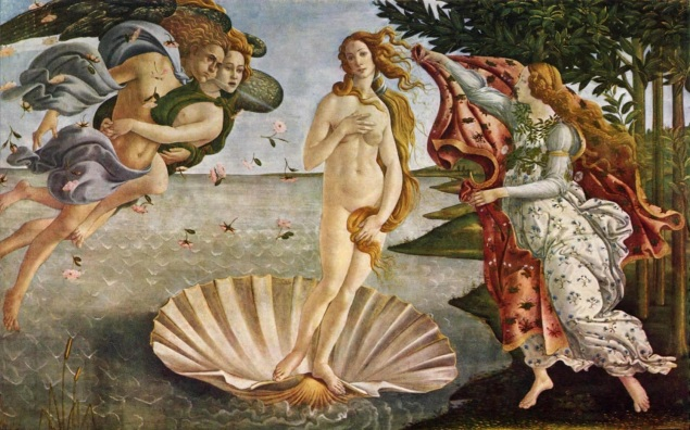 Sandro Botticelli / The Birth Of Venus / 1485