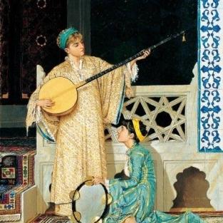 İki müzisyen kız