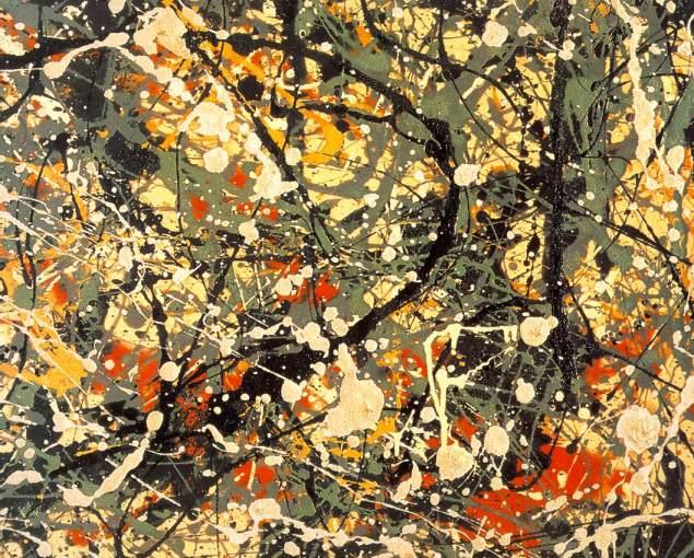 All- Over için tuval istilası diyebiliriz; resimde herhangi bir odak yoktur.1940'larda Jackson Pollock resimleri için kullanılan terim bir soyutlamayı ifade eder.