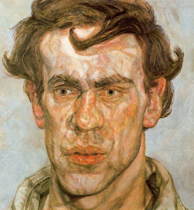 """Lucian Freud ;  Döneminden, bir 50 yıl öncesine ait tatlara sahip,""""yeni portre"""" anlayışının yeniliği ölçekleri ile ilgili olabilir mi?"""