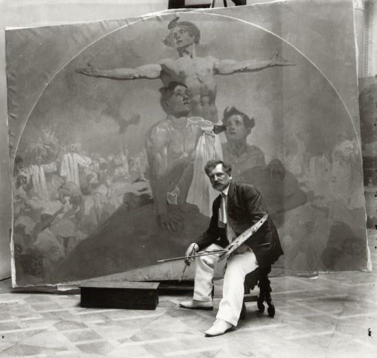Alfons Mucha / 1908