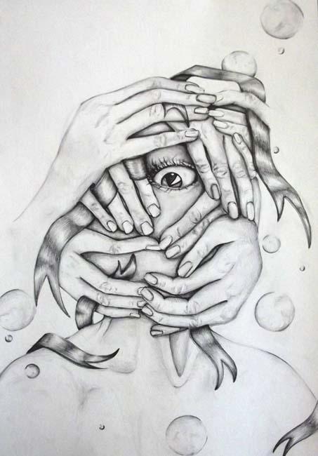 Gözde Yıldız / İ.E.U Güzel Sanatlar ve Tasarım Fakültesi / 1.Sınıf Çalışmalarından / 2014