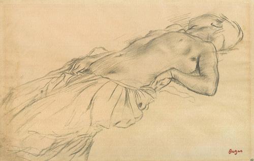 Edgar Degas / Füzen Desen