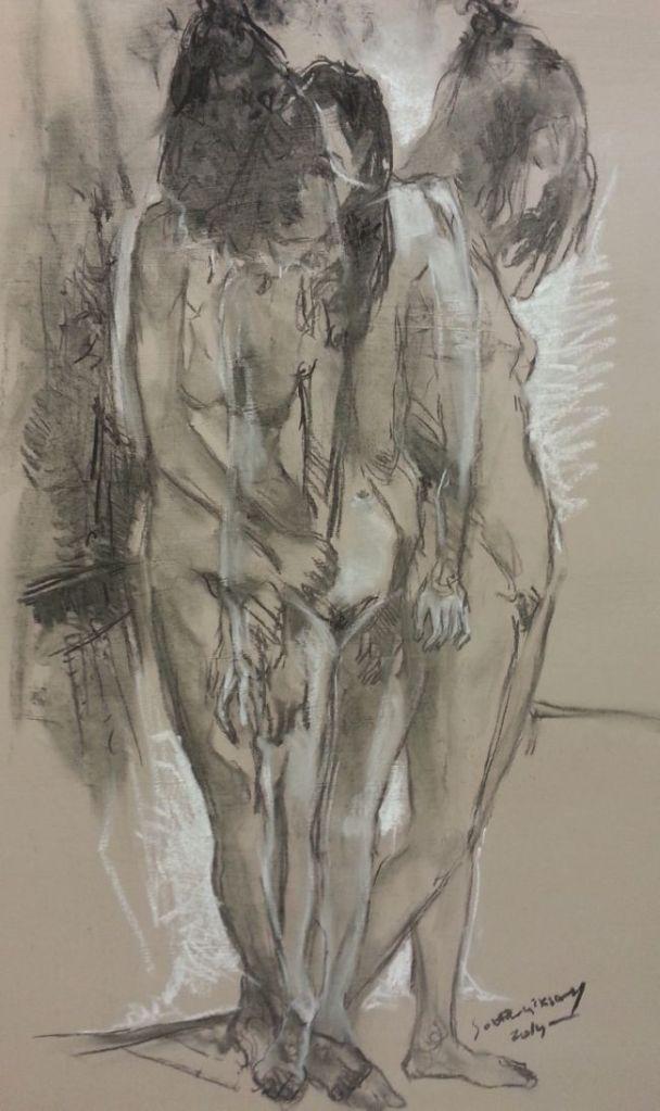 üçlü / 70 x 100 cm / 2014