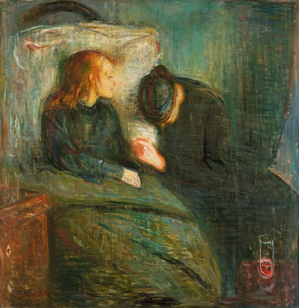 Munch / Hasta çocuk / Paris,2.versiyon /1896