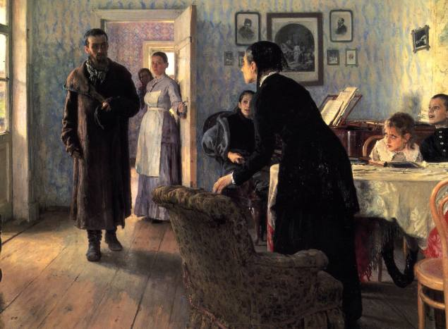 Ilya Repin / Beklenmedik Ziyaretçi /1888