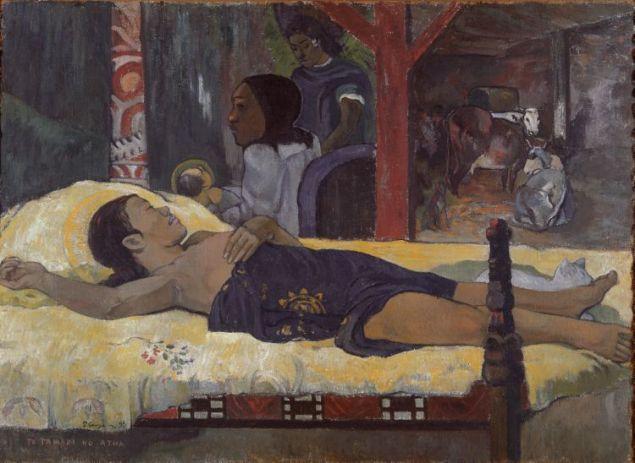 """Te Tamari No Atua / Son Of God  Çalışmanın altında orjinal isim,yerli dilinde """"Tanrı'nın Çocukları"""" anlamına geliyor."""