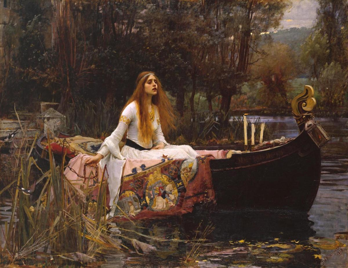 """Lady of Shalott""  Analizi"