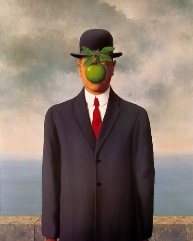 The Son of Man / Tuvale Yağlıboya /  116 x 89 cm / 1964