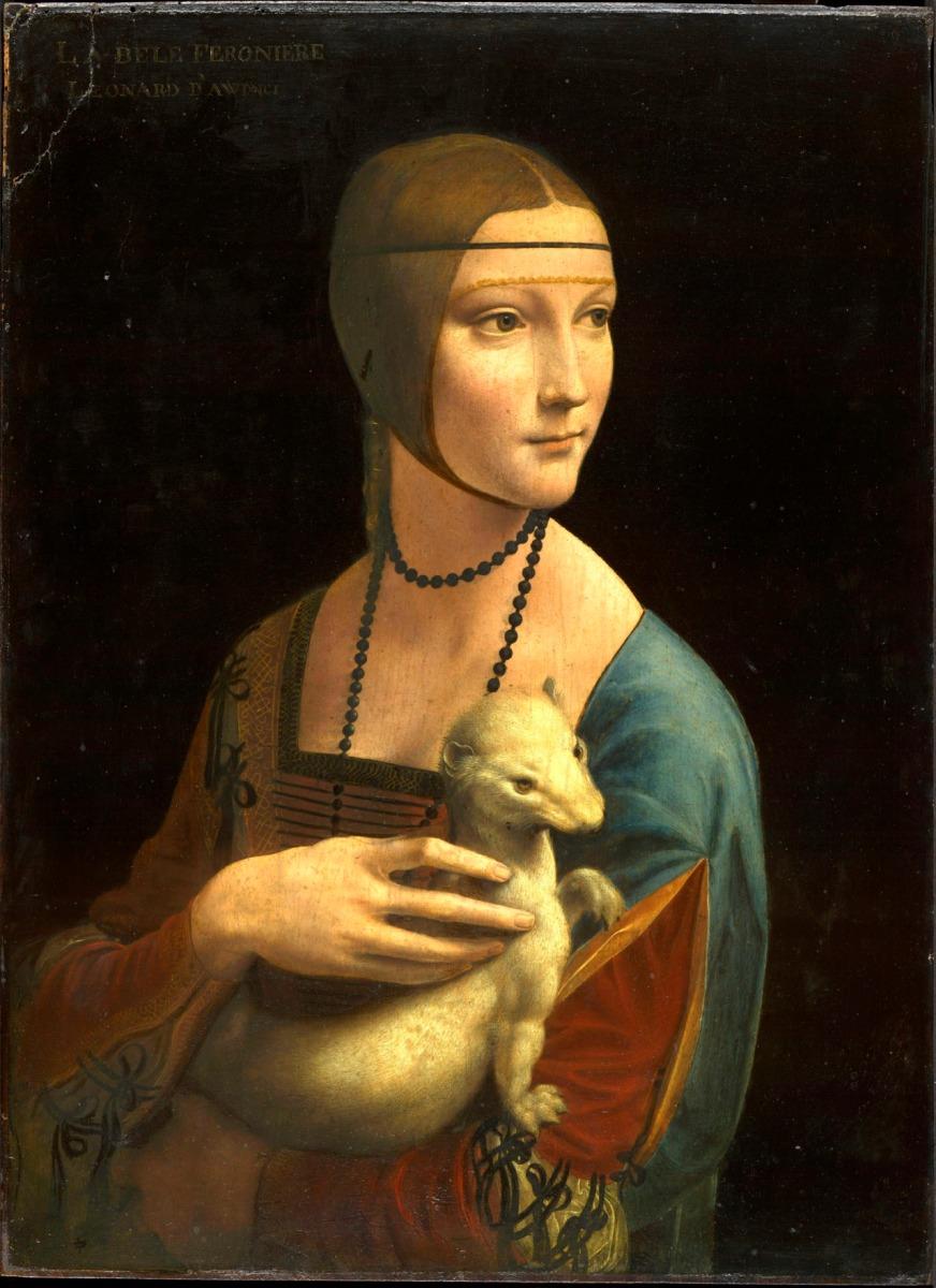 """Leonardo'nun Müthiş Çalışması ; """"Gelincikli Portre"""""""
