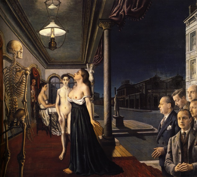 Paul-Delvaux-Il-museo-spitzner-1943